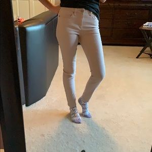 Cream/Tan summer jeggings